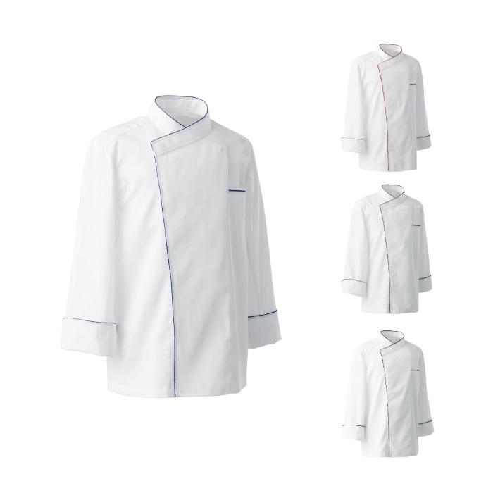 SEVEN(白洋社) BA1082 男女兼用コックコート 長袖