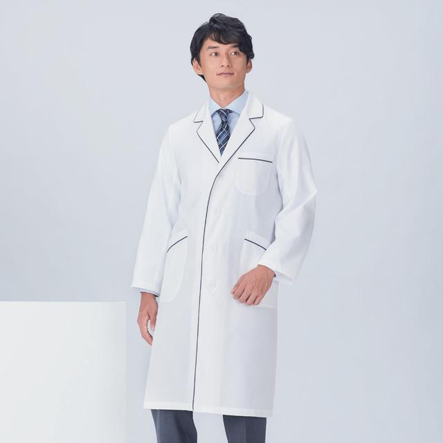118-18 メンズコード診察衣シングル型長袖