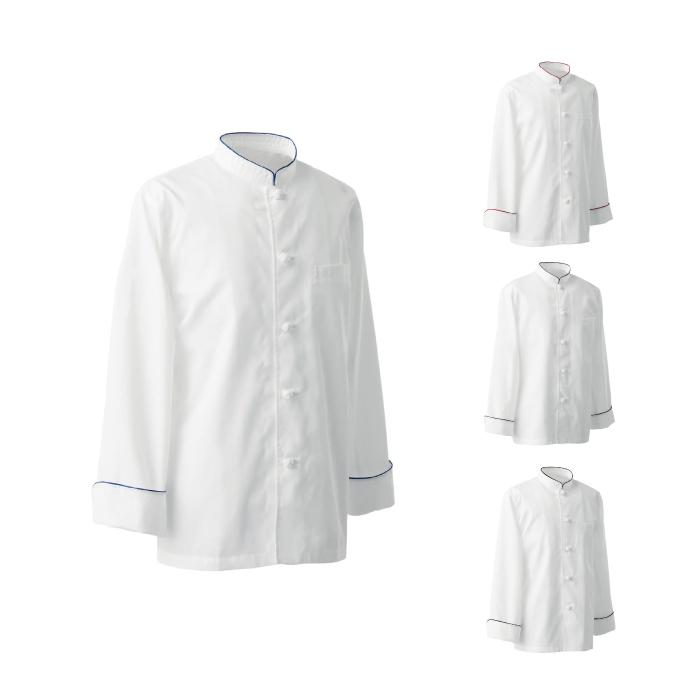 SEVEN(白洋社) BA1080 男女兼用コックコート 長袖