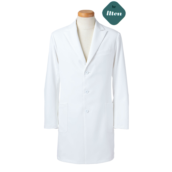 R2491 長袖ドクタージャケット(メンズ)